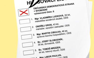 Hlasování v komunálních volbách